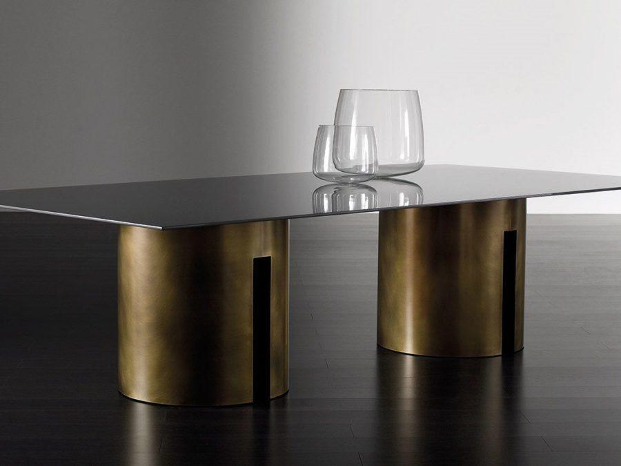 gong-tavolo-pranzo-ottone