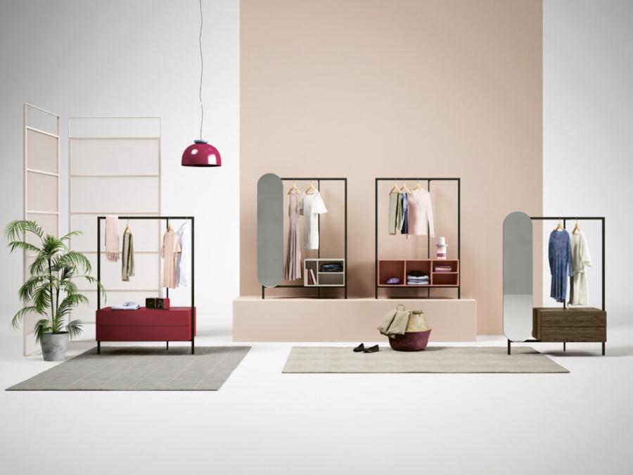 Novamobili - Garderobe Easy System
